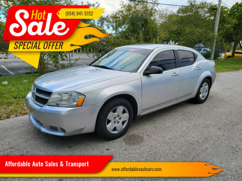2010 Dodge Avenger for sale at Affordable Auto Sales & Transport in Pompano Beach FL