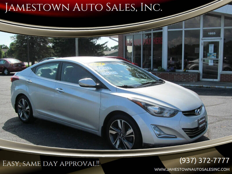2014 Hyundai Elantra for sale at Jamestown Auto Sales, Inc. in Xenia OH