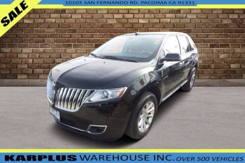 2013 Lincoln MKX for sale at Karplus Warehouse in Pacoima CA