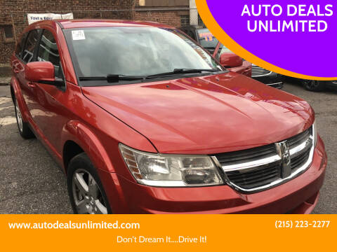 2009 Dodge Journey for sale at AUTO DEALS UNLIMITED in Philadelphia PA