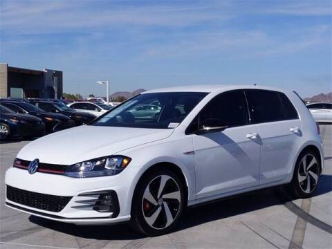 2021 Volkswagen Golf GTI for sale at Camelback Volkswagen Subaru in Phoenix AZ