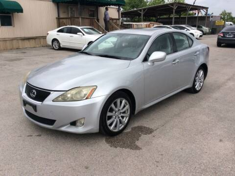 2006 Lexus IS 250 for sale at OASIS PARK & SELL in Spring TX