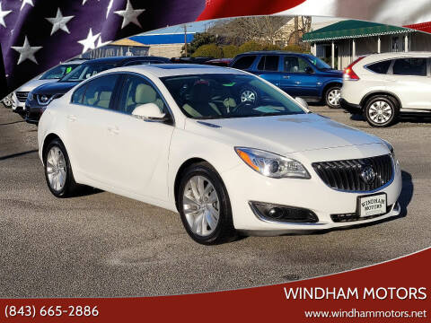 2016 Buick Regal for sale at Windham Motors in Florence SC