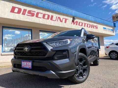 2020 Toyota RAV4 for sale at Discount Motors in Pueblo CO