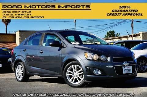 2012 Chevrolet Sonic for sale at Road Motors Imports in El Cajon CA