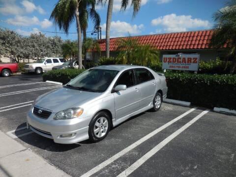 2006 Toyota Corolla for sale at Uzdcarz Inc. in Pompano Beach FL
