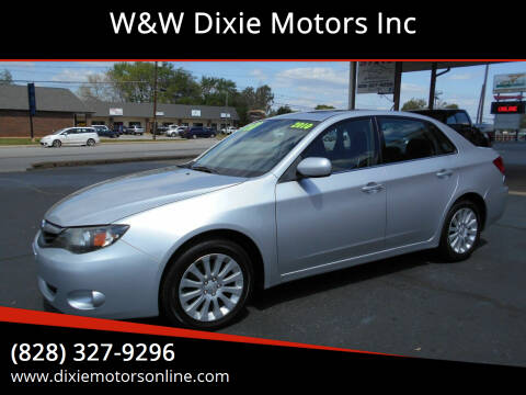 2010 Subaru Impreza for sale at W&W Dixie Motors Inc in Hickory NC