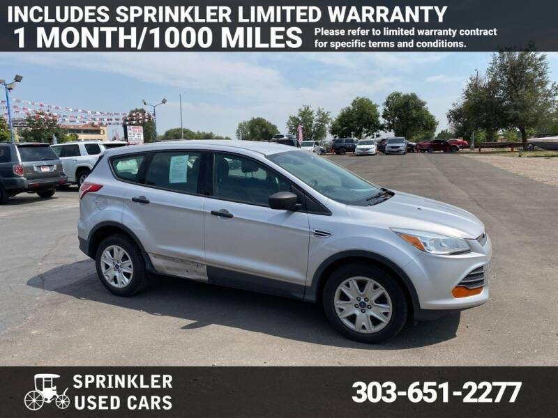 2013 Ford Escape for sale at Sprinkler Used Cars in Longmont CO