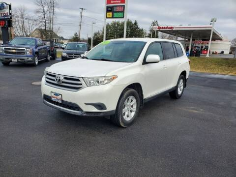 2012 Toyota Highlander for sale at Excellent Autos in Amsterdam NY