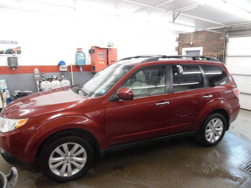 2012 Subaru Forester for sale at East Barre Auto Sales, LLC in East Barre VT