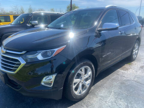 2018 Chevrolet Equinox for sale at EAGLE ONE AUTO SALES in Leesburg OH