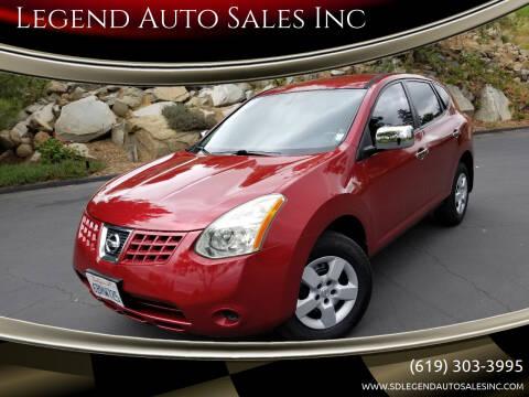 2008 Nissan Rogue for sale at Legend Auto Sales Inc in Lemon Grove CA