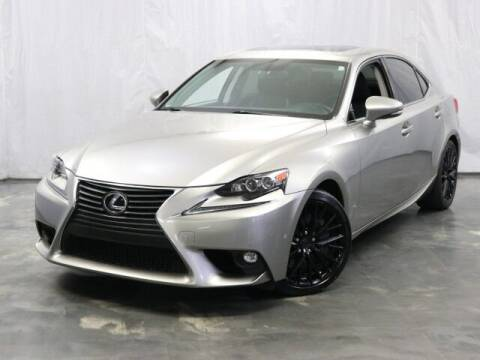 2016 Lexus IS 300 for sale at United Auto Exchange in Addison IL