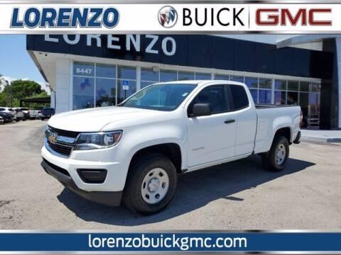 2019 Chevrolet Colorado for sale at Lorenzo Buick GMC in Miami FL
