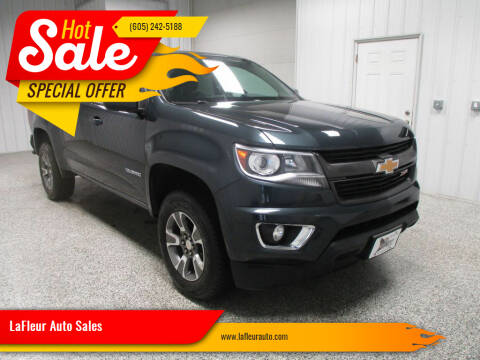 2017 Chevrolet Colorado for sale at LaFleur Auto Sales in North Sioux City SD