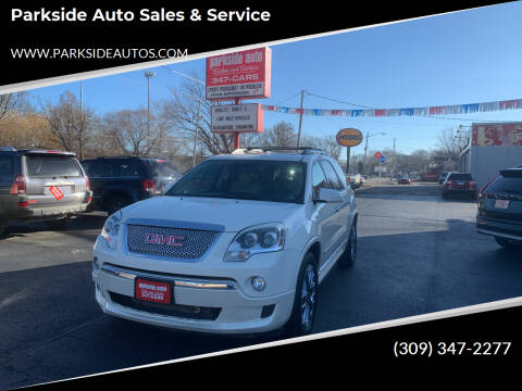 2011 GMC Acadia for sale at Parkside Auto Sales & Service in Pekin IL