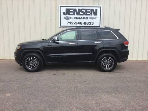 2021 Jeep Grand Cherokee for sale at Jensen's Dealerships in Sioux City IA