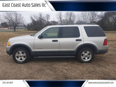 2004 Ford Explorer for sale at East Coast Auto Sales llc in Virginia Beach VA