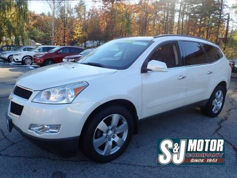 2011 Chevrolet Traverse for sale at S & J Motor Co Inc. in Merrimack NH