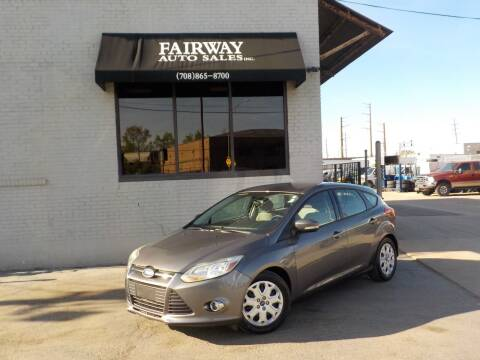 2012 Ford Focus for sale at FAIRWAY AUTO SALES, INC. in Melrose Park IL