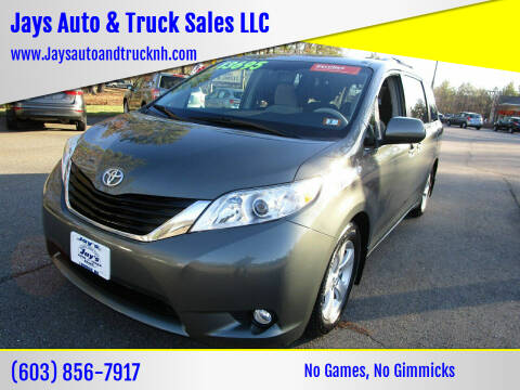 2014 Toyota Sienna for sale at Jays Auto & Truck Sales LLC in Loudon NH