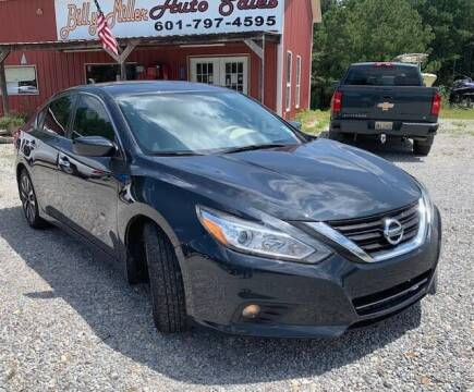 2017 Nissan Altima for sale at Billy Miller Auto Sales in Mount Olive MS