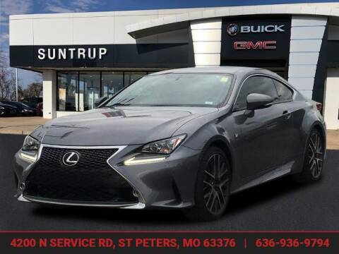 2016 Lexus RC 200t for sale at SUNTRUP BUICK GMC in Saint Peters MO