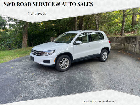 2017 Volkswagen Tiguan for sale at S&D Road Service & Auto Sales in Cumberland RI