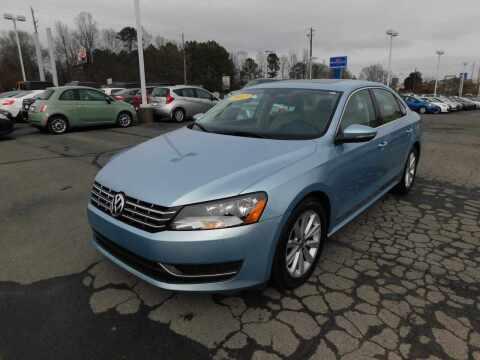 2012 Volkswagen Passat for sale at Paniagua Auto Mall in Dalton GA