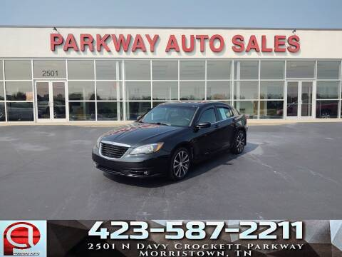 2013 Chrysler 200 for sale at Parkway Auto Sales, Inc. in Morristown TN