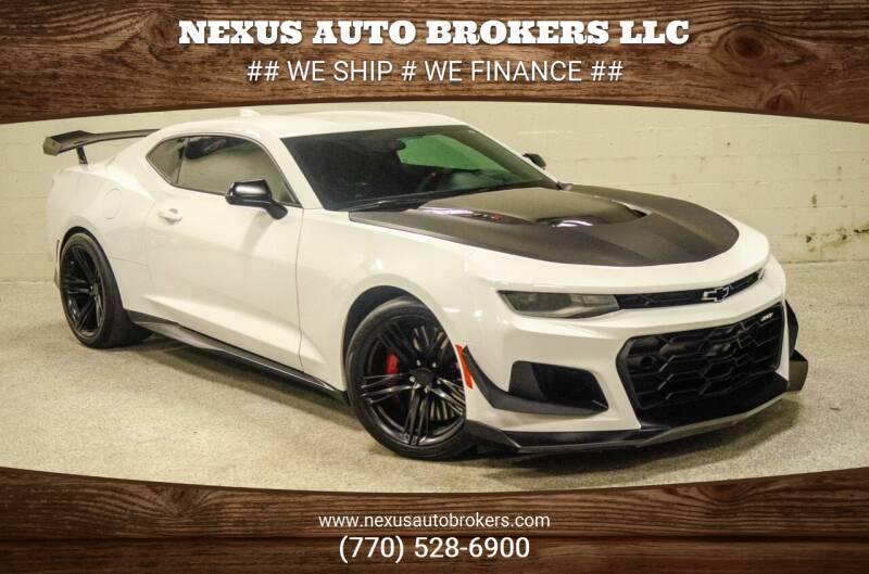 2018 Chevrolet Camaro for sale at Nexus Auto Brokers LLC in Marietta GA