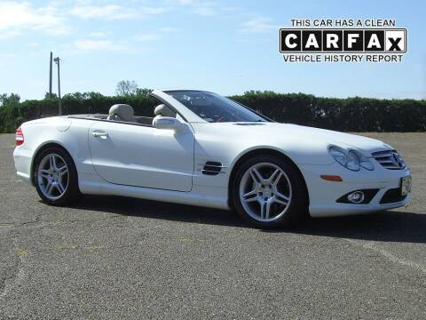 2007 Mercedes-Benz SL-Class for sale at Atlantic Car Company in East Windsor CT