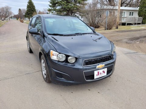 2014 Chevrolet Sonic for sale at J & S Auto Sales in Thompson ND