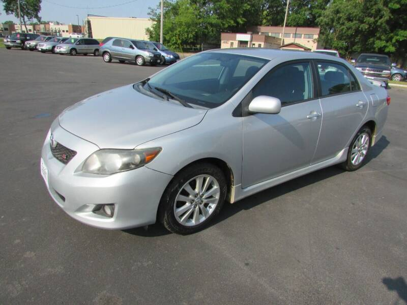 2010 Toyota Corolla for sale at Fedder Motors in Mora MN