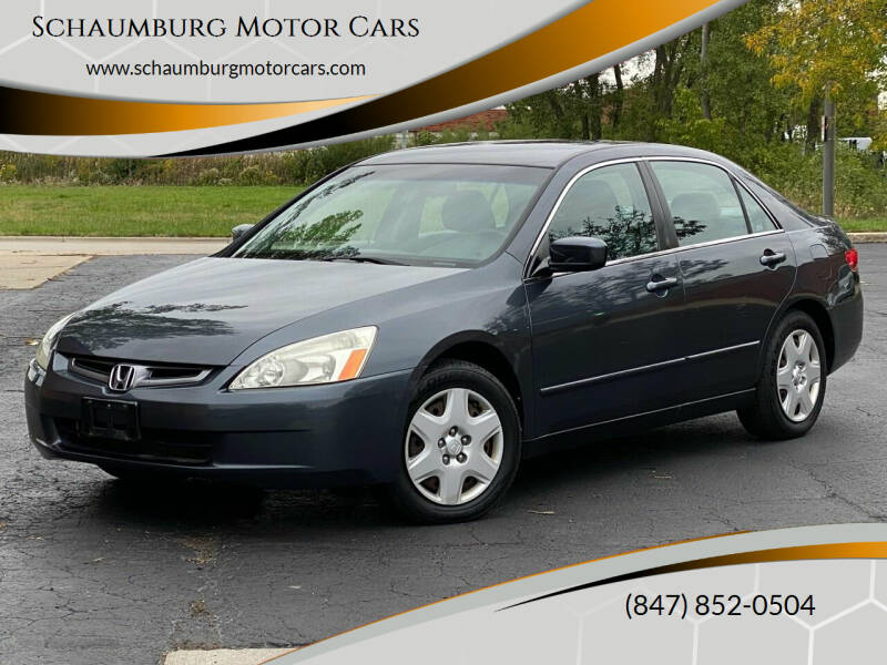 2005 Honda Accord for sale at Schaumburg Motor Cars in Schaumburg IL