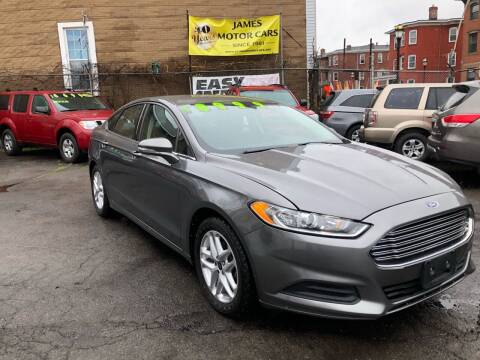 2013 Ford Fusion for sale at James Motor Cars in Hartford CT