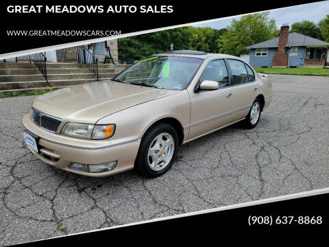 1998 Infiniti I30 for sale at GREAT MEADOWS AUTO SALES in Great Meadows NJ