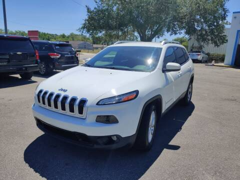 2015 Jeep Cherokee for sale at Max Auto Sales in Sanford FL