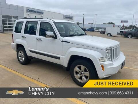 2012 Jeep Liberty for sale at Leman's Chevy City in Bloomington IL