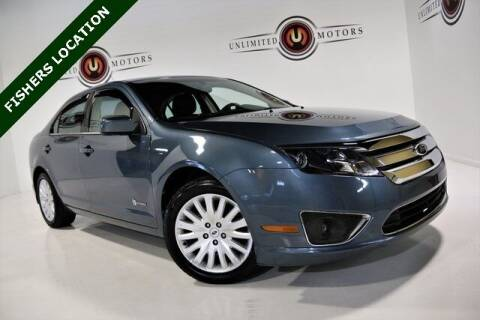 2012 Ford Fusion Hybrid for sale at Unlimited Motors in Fishers IN