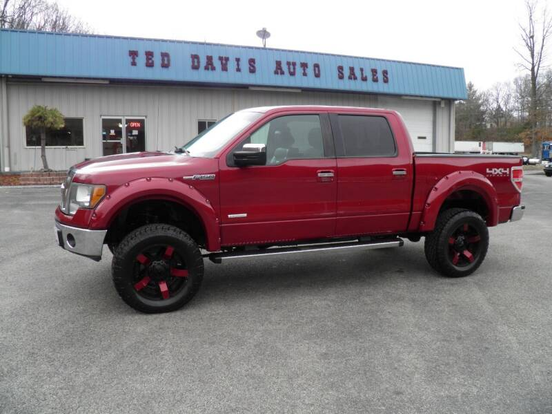 2013 Ford F-150 for sale at Ted Davis Auto Sales in Riverton WV