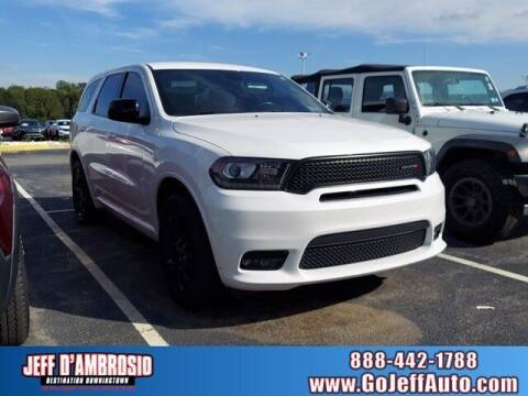 2019 Dodge Durango for sale at Jeff D'Ambrosio Auto Group in Downingtown PA