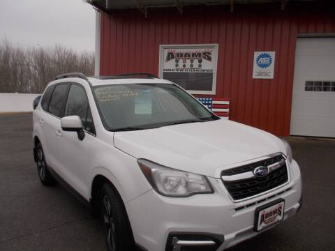 2017 Subaru Forester for sale at Adams Automotive in Hermon ME