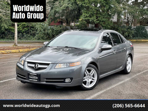 2008 Acura TL for sale at Worldwide Auto Group in Auburn WA