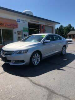 2019 Chevrolet Impala for sale at Haldane Custom in Polo IL