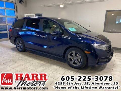 2021 Honda Odyssey for sale at Harr's Redfield Ford in Redfield SD