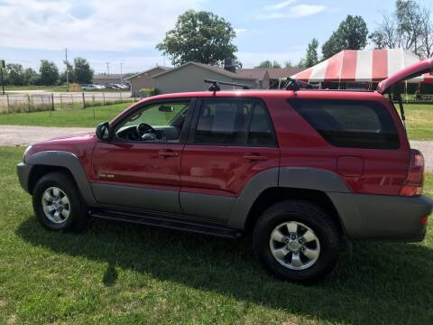 2003 Toyota 4Runner for sale at The Auto Depot in Mount Morris MI