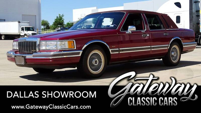 1990 Lincoln Town Car for sale in Grapevine, TX