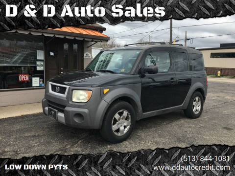 2003 Honda Element for sale at D & D Auto Sales in Hamilton OH