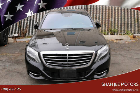 2015 Mercedes-Benz S-Class for sale at Shah Jee Motors in Woodside NY